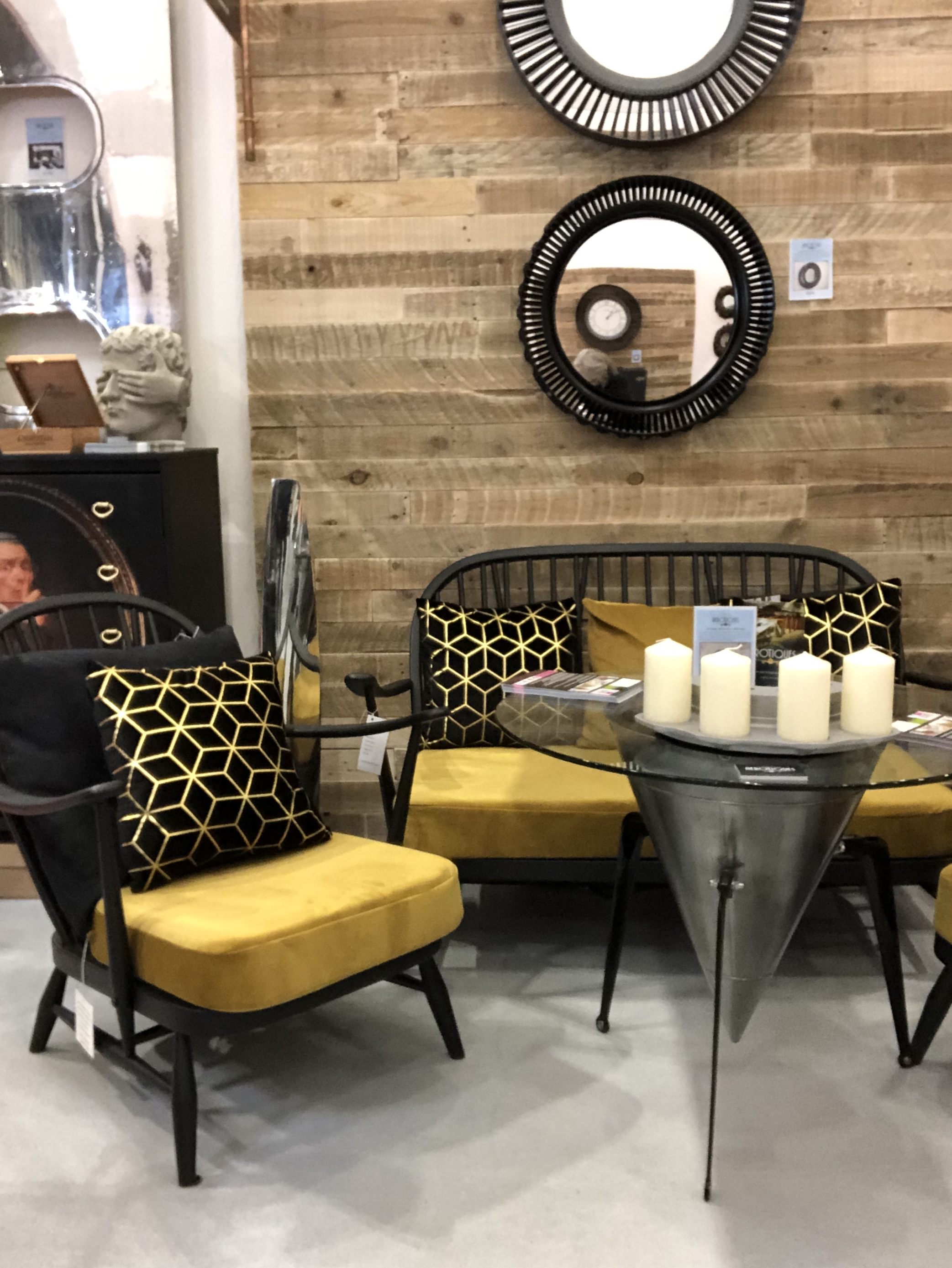 The House of Upcycling: Colour Me KT Vintage GPlan Sofa & Chairs