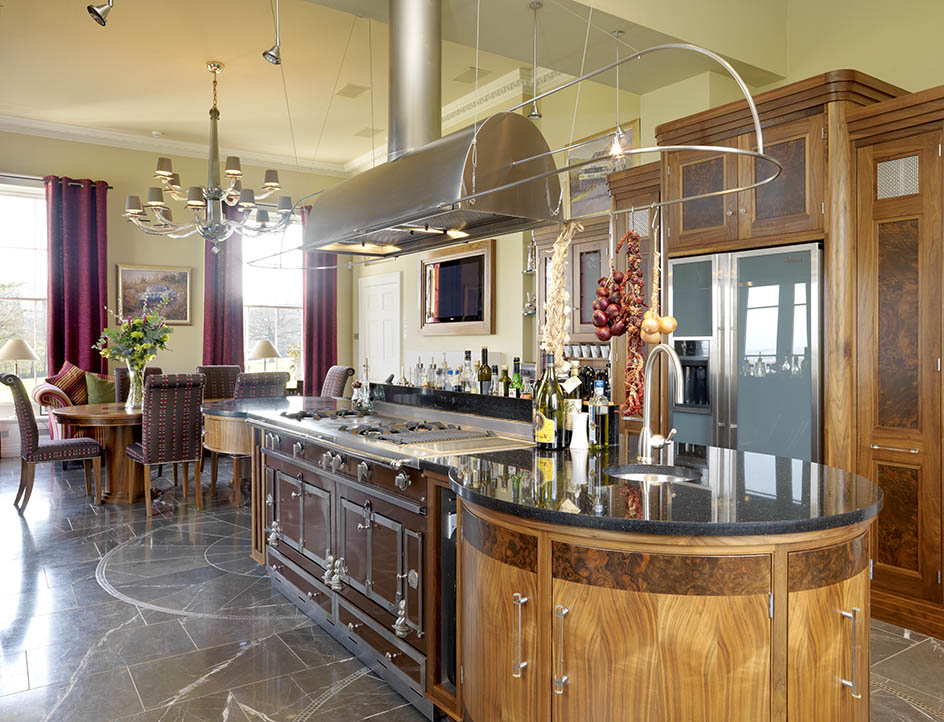 This bespoke kitchen was designed to ignite the passion of our clients who love to entertain
