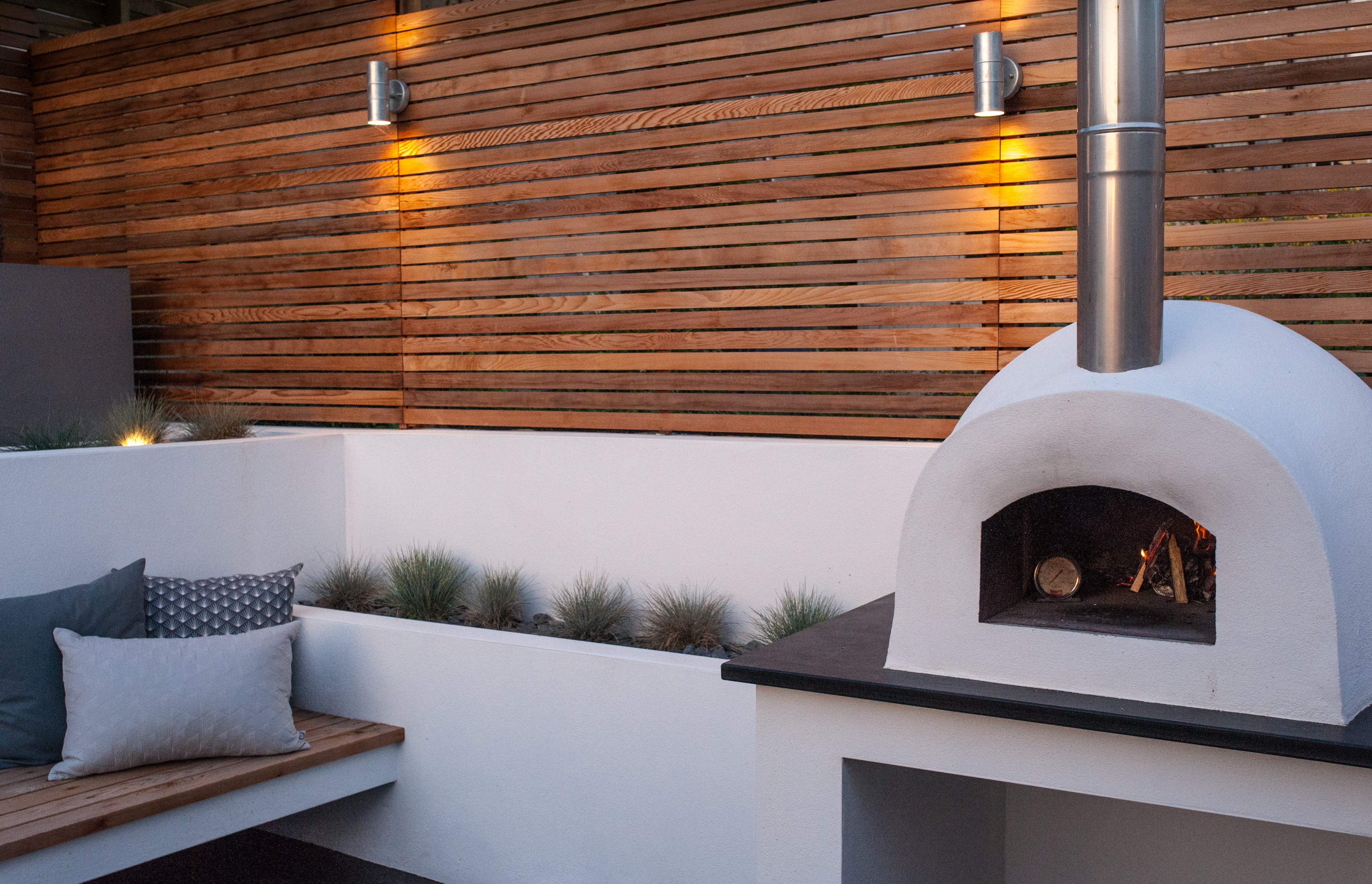 Pizza oven, Port Isaac
