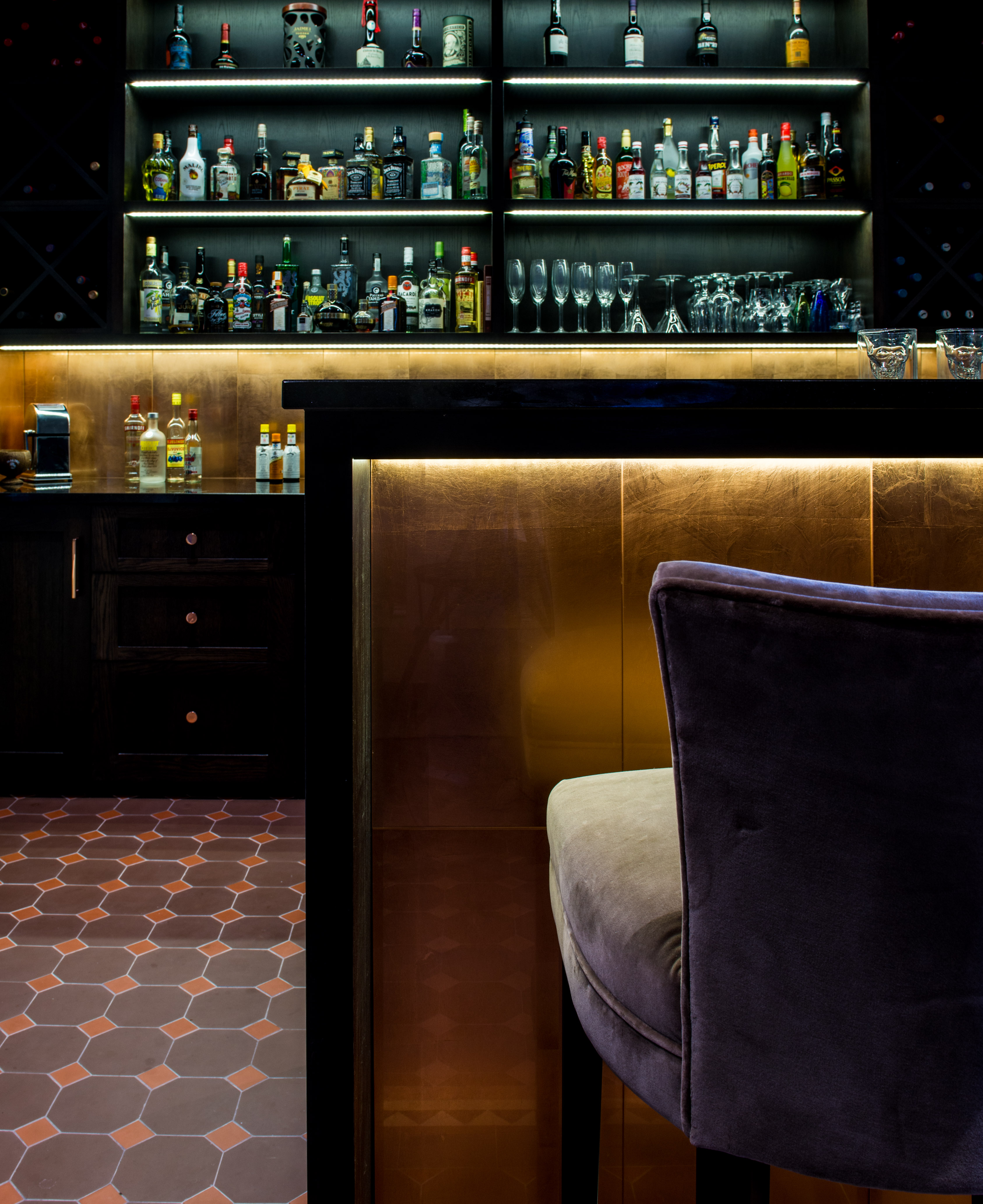 Bar Area, Porthleven