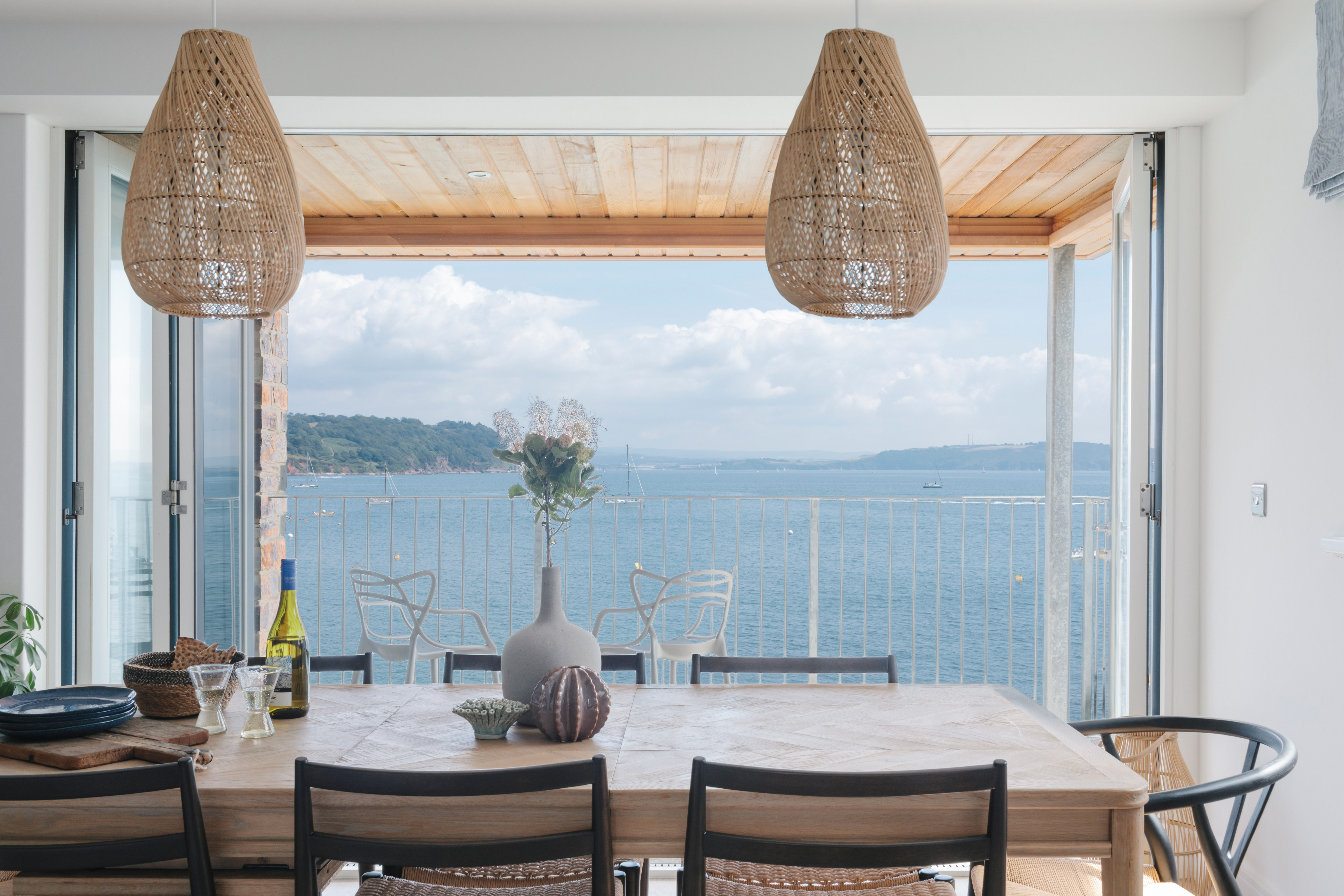Sea view dining, Cawsand