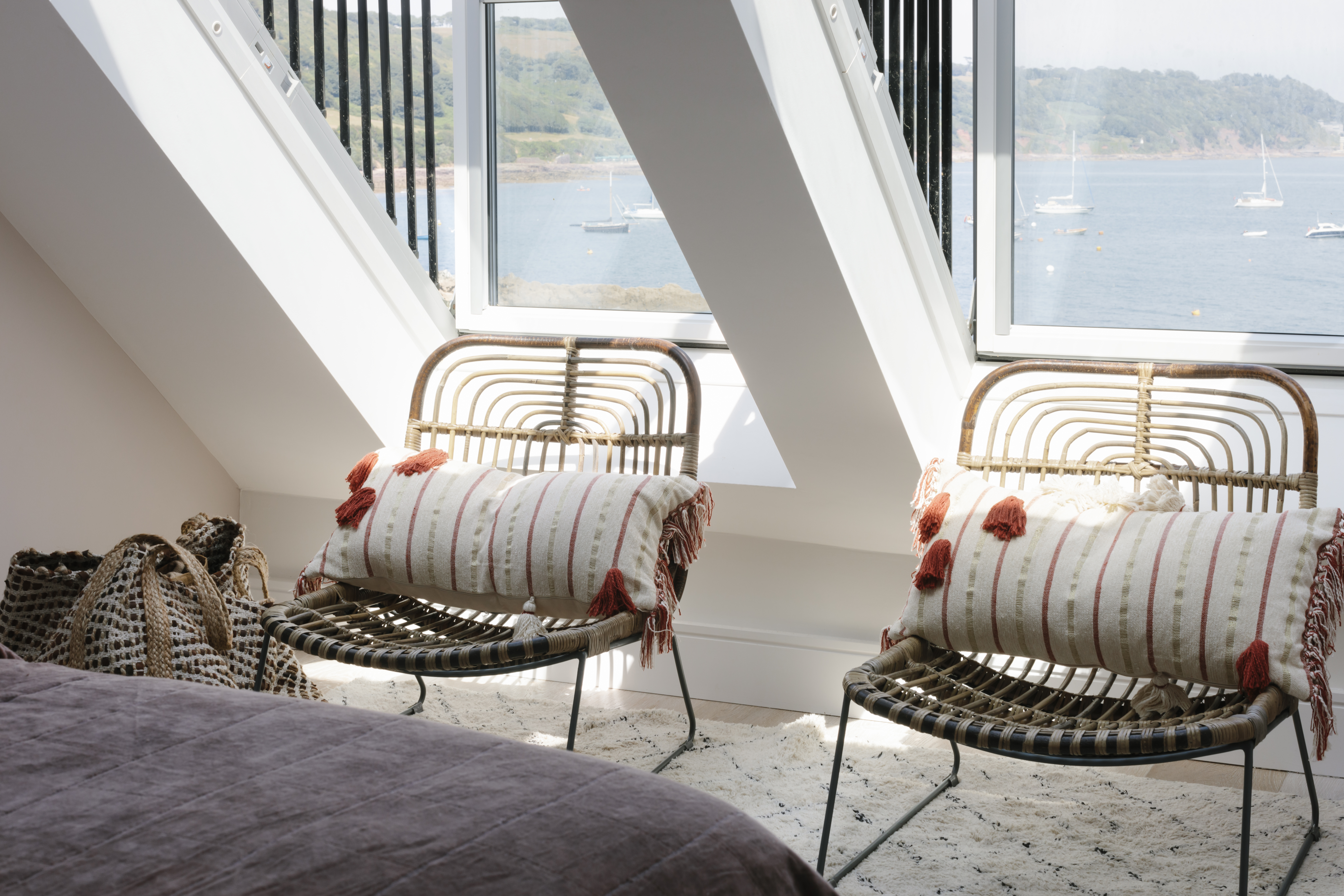 Simple bedroom seating, Cawsand
