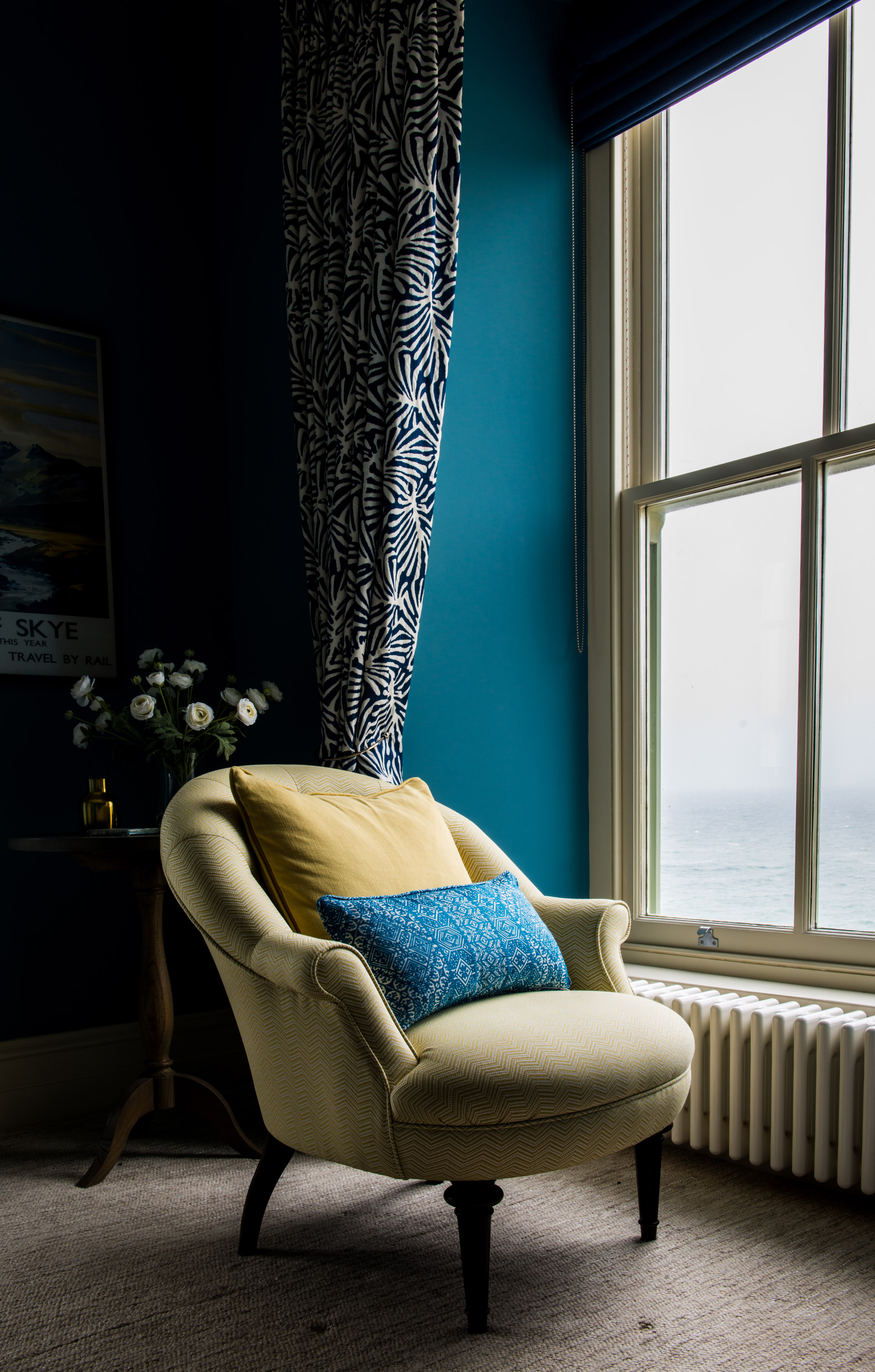 Chair with a view, Porthleven