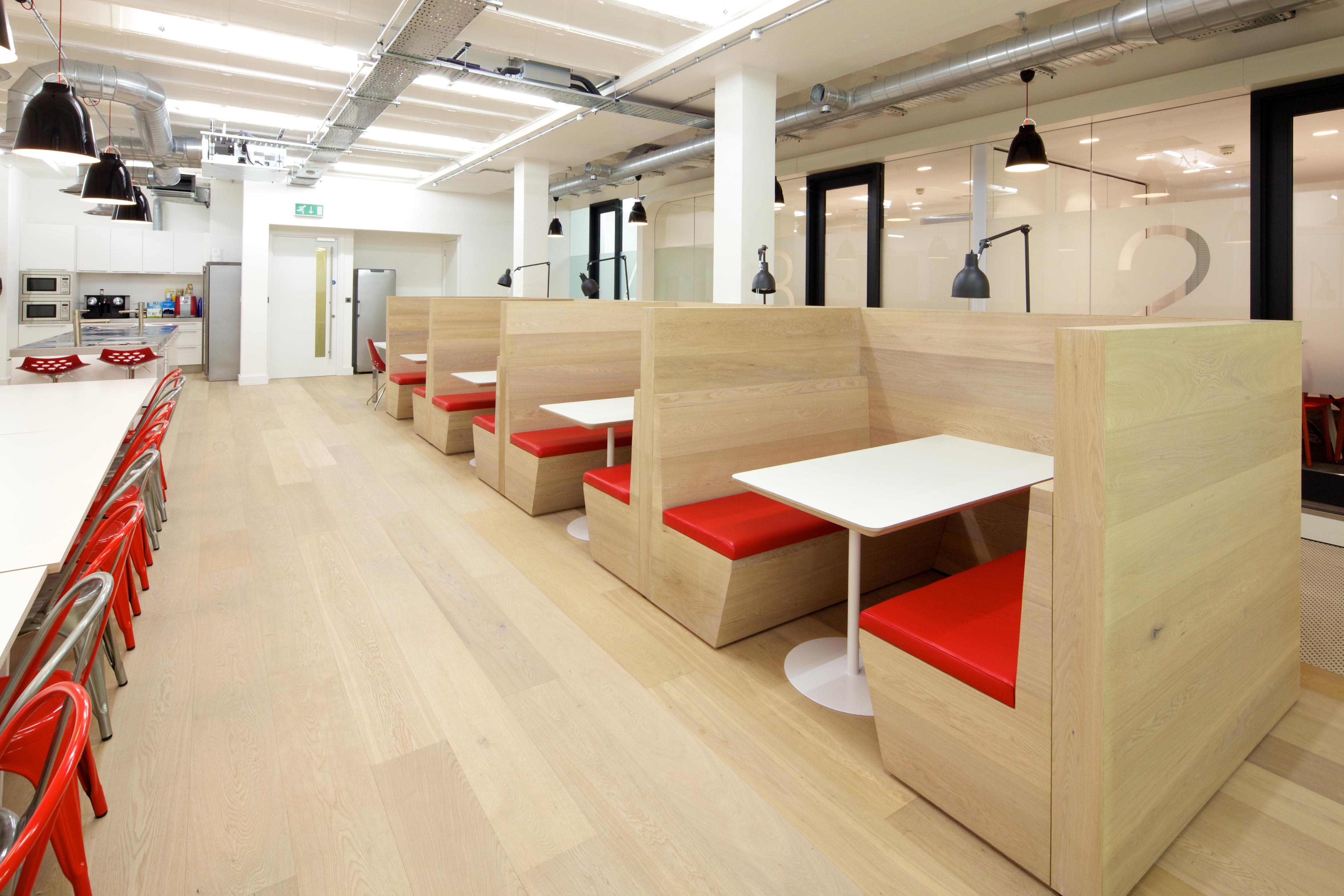 White finished prime oak engineered wood flooring