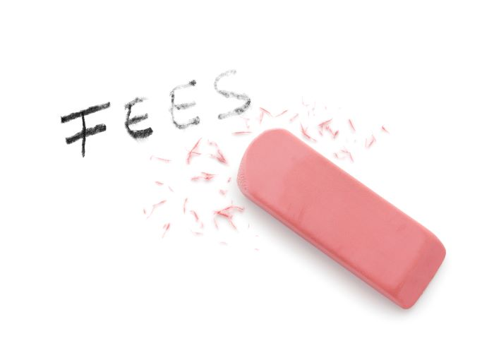 Fees and Eraser