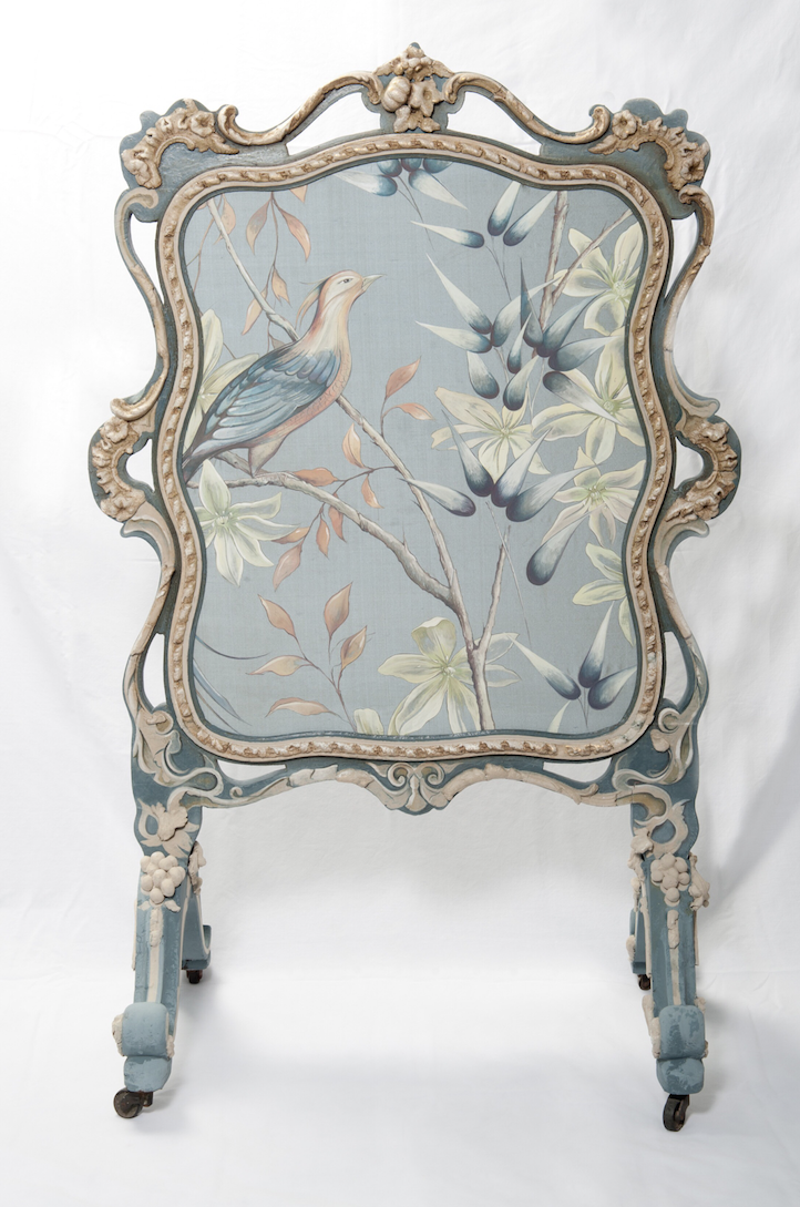 The House of Upcycling: Sue Gifford Design Refurbished and Hand Painted Vintage Fire Screen