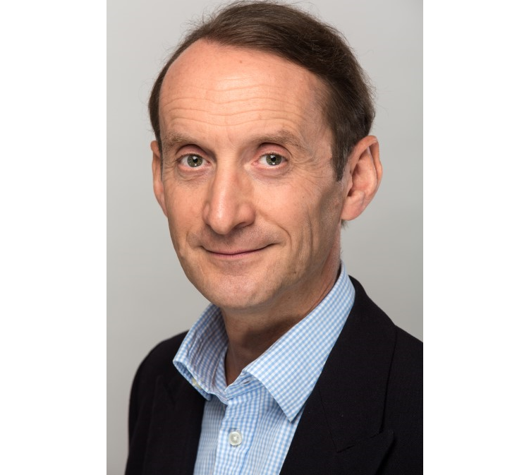 a headshot of author and colour expert Patrick Baty