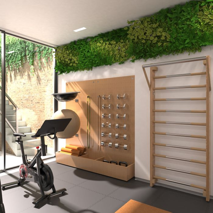 Paragon Studio Storage Wall and Paragon Studio Folding Wall Bar System