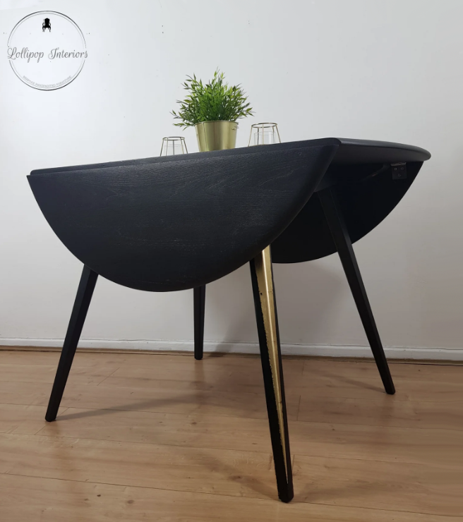 The House of Upcycling: Lollipop Interiors Ercol Drop Leaf Dining Table