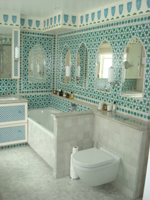 Moroccan Bathroom | British Institute of Interior Design