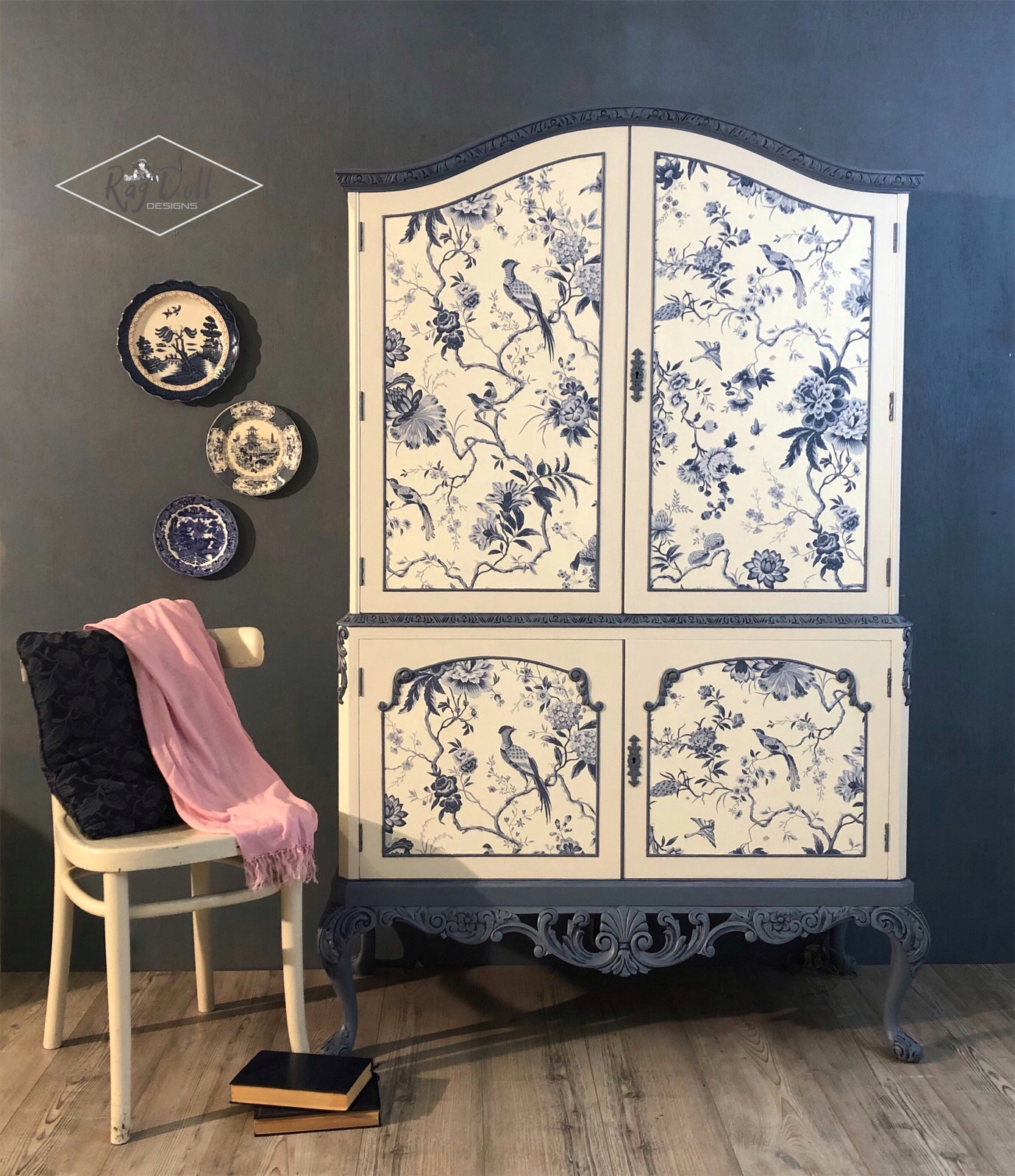 The House of Upcycling: Rag Doll Design Studio Delft Inspired Cabinet