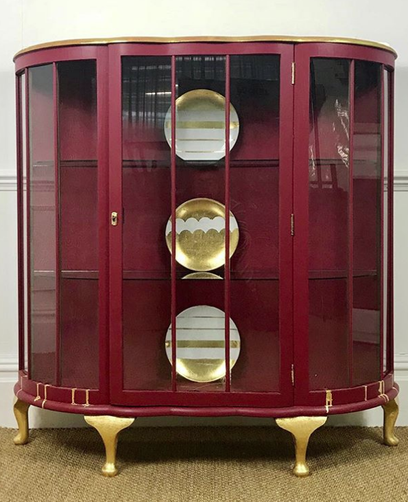 The House of Upcycling: Restored Vintage Cabinet by Colour Me KT