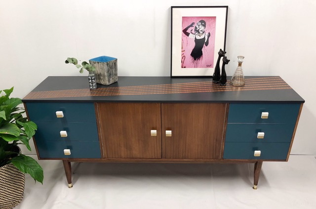 The House of Upcycling: Roc Studio Upcycled Mid Century Sideboard