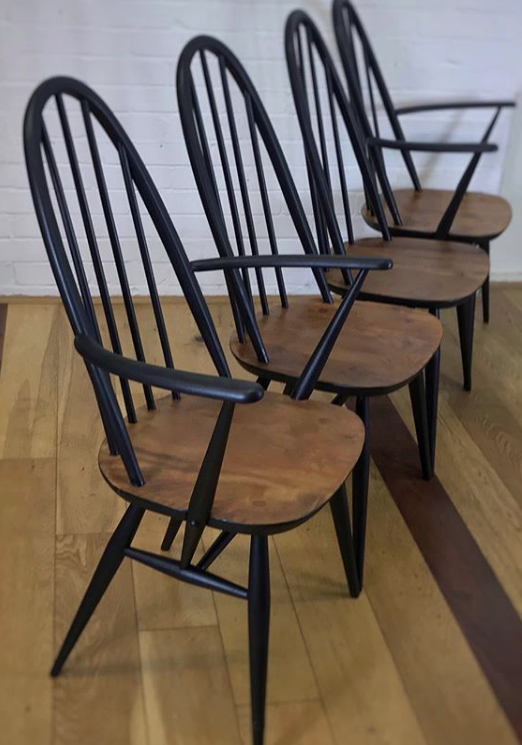 The House of Upcycling: Restored GPlan Dining Chairs by Colour Me KT