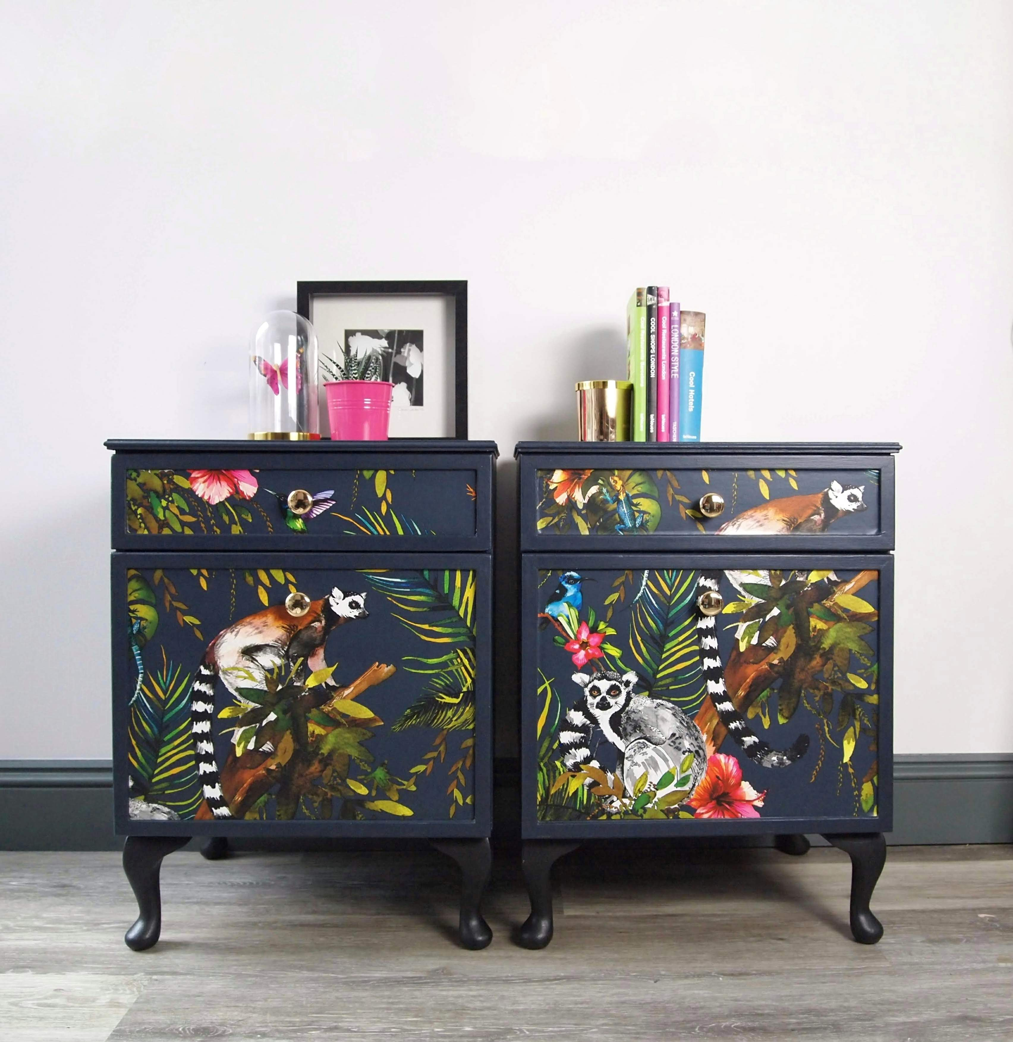 The House of Upcycling: Webb & Gray Decoupaged Sideboard