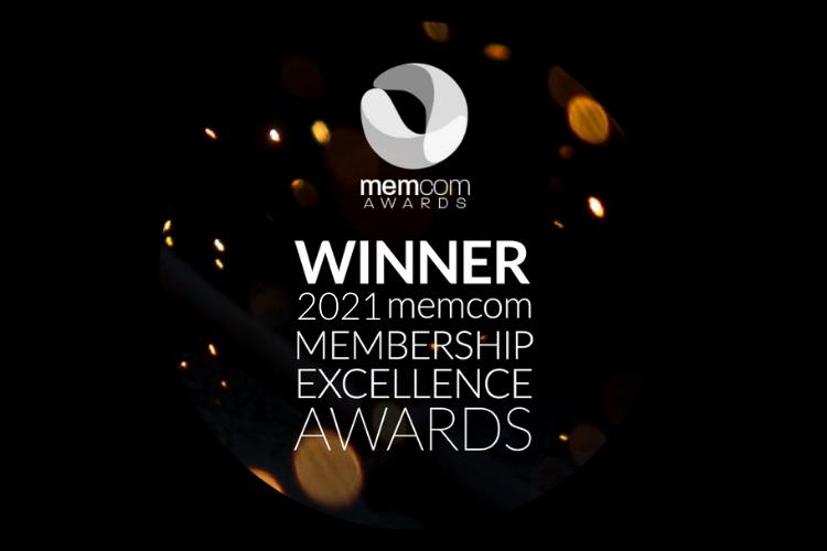 Memcom Excellence Awards 2021 Winners Logo