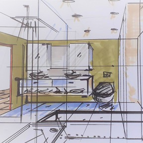 Online Workshop: Speedy Sketching for Interior Designers
