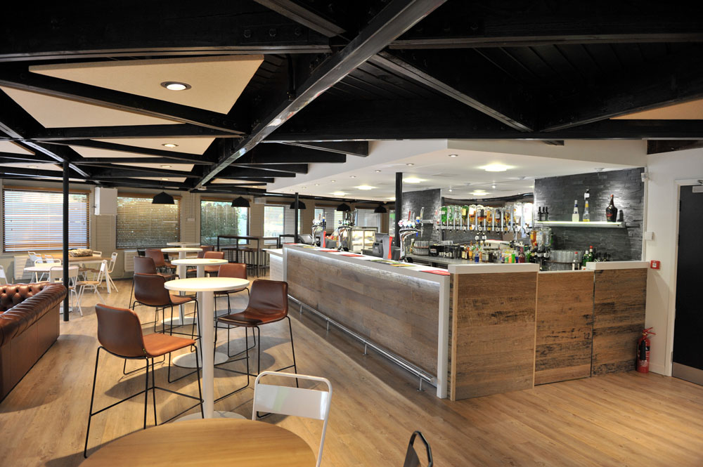 Tristone Pure White - Student Bar at the Lawns, University of Hull